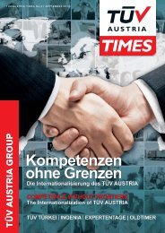 TÃœV AUSTRIA TIMES September 2013