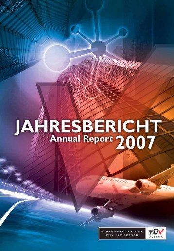 Jahresbericht 07 - TÜV Austria