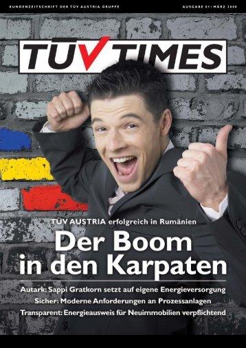 K U N D E N Z E I T S C H R I F T D E R T Ü ... - TÜV Austria