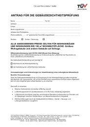 Antrag fuer die Gebaudedichtheitspruefung_Rev00 - TÜV Austria