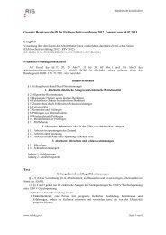 Gesamte Rechtsvorschrift für Elektroschutzverordnung 2012 ...