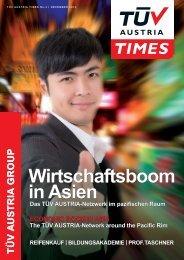TÜV AUSTRIA TIMES 4 / 2013