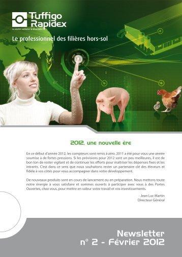 Newsletter n° 2 - Février 2012 - Tuffigo-rapidex