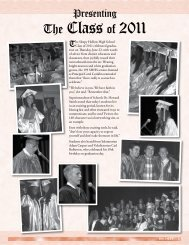 The Class of 2011 - Union Free School District of the Tarrytowns