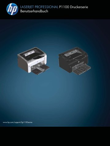 HP LASERJET PROFESSIONAL P1100 Printer ... - Hewlett Packard