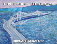 2012-2013 School Year - Union Free School District of the Tarrytowns