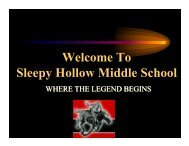 6th Grade Orientation Presentation - Union Free School District of ...