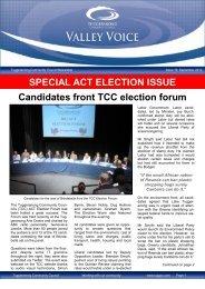 Valley Voice Issue – September 2012 - Tuggeranong Community ...