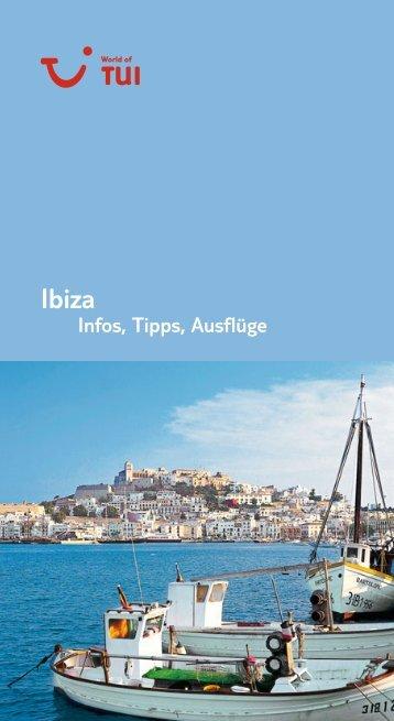 TUI - Infos, Tipps, Ausflüge: Ibiza - Online Kataloge