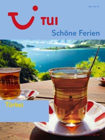 TUI - Türkei - Sommer 2007 - tui.com - Onlinekatalog