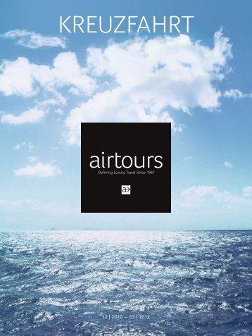 AIRTOURS - Kreuzfahrt - 2010/2011 - tui.com - Onlinekatalog