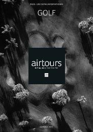 AIRTOURS - Preisteil - Sommer 2011 - tui.com - Onlinekatalog