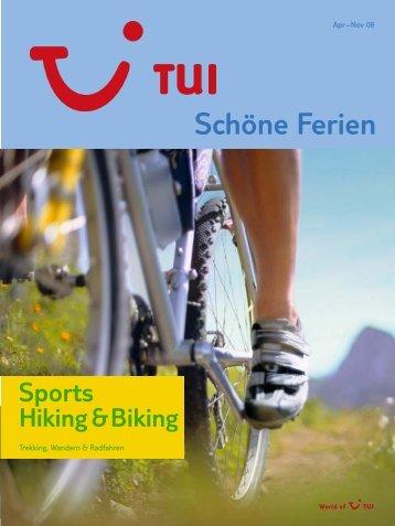 Hiking & Biking - tui.com - Onlinekatalog