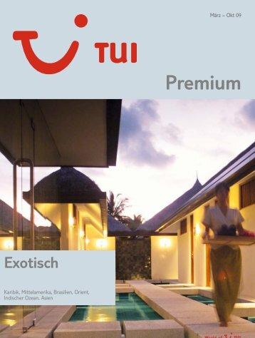 TUI - Premium Exotisch - Sommer 2009 - tui.com - Onlinekatalog