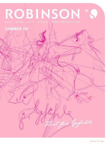 TUI - Robinson - Sommer 2009 - tui.com - Onlinekatalog