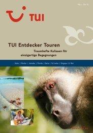 TUI - Entdecker Touren - Sommer 2010 - tui.com - Onlinekatalog