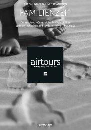 AIRTOURS - Familienzeit - Sommer 2011 - tui.com - Onlinekatalog