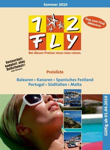 12FLY - Preisteil 2. Edition - Sommer 2010 - tui.com - Onlinekatalog