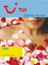 TUI -Schöne Ferien: Vital - Sommer 2008 - tui.com - Onlinekatalog