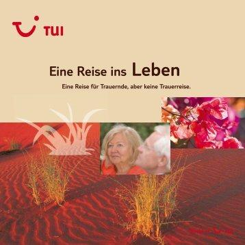 TUI - Eine Reise ins Leben - tui.com - Onlinekatalog