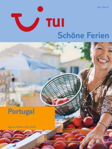 TUI - Portugal - Sommer 2007 - tui.com - Onlinekatalog