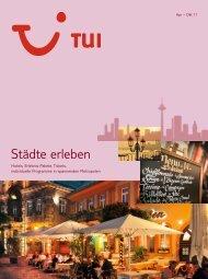 Städte erleben - tui.com - Onlinekatalog