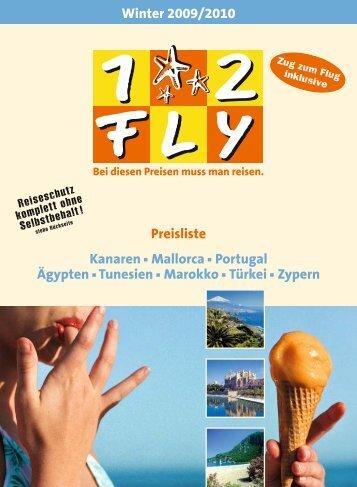 12FLY - Preisteil - Winter 2009/2010 - tui.com - Onlinekatalog