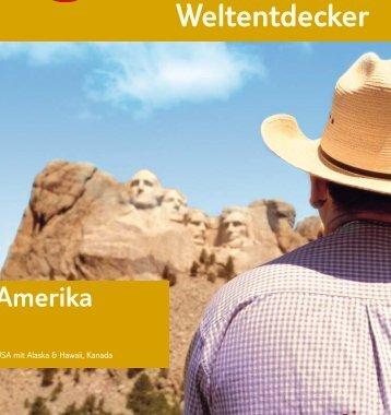 TUI - Weltentdecker Amerika - Sommer 2007 - tui.com - Onlinekatalog