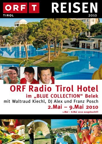 "ORF Radio Tirol Hotel im ""BLUE COLLECTION"" - TUI ReiseCenter"