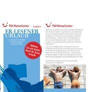 Ausgabe 3 - TUI ReiseCenter