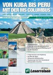 TT-Leserreise Columbus Havanna - Callao_8 ... - TUI ReiseCenter