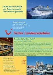 Inclusive Kreuzfahrt zum Toppreis gesucht. Costa ... - TUI ReiseCenter