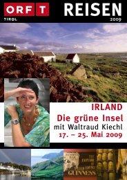IRLAND Die grüne Insel 17. – 25. Mai 2009 - TUI ReiseCenter