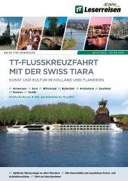 TT-FLUSSKREUzFAHRT MIT DER SWISS TIARA ... - TUI ReiseCenter