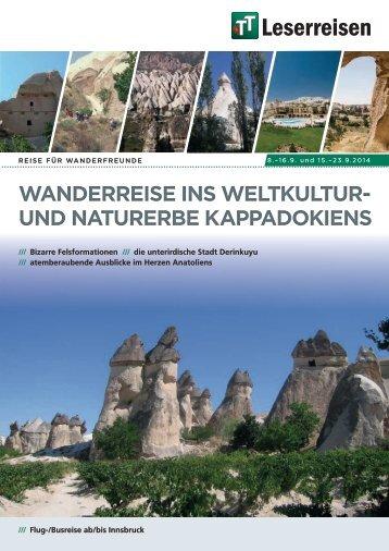 und naturerbe kappadokiens