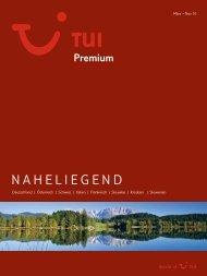 TUI - Premium: Naheliegend - Sommer 2010 - TUI.at