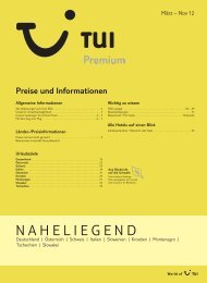 NAHELIEGEND - TUI.at