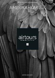 AIRTOURS - Preisteil - Winter 2010/2011 - TUI.at