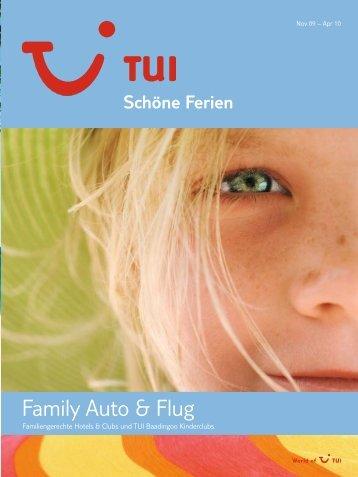 TUI - Schöne Ferien: Family Flug & Auto - Winter 2009/2010 - TUI.at