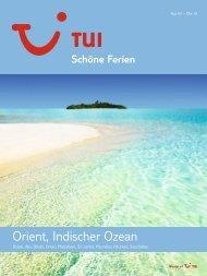 TUI - Schöne Ferien: Orient, Indischer Ozean - Winter 2009 ... - TUI.at