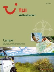 TUI - Weltentdecker: Camper - Sommer 2010 - TUI.at
