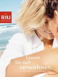 TUI - RIU: Hotels & Resorts - Sommer 2010 - TUI.at