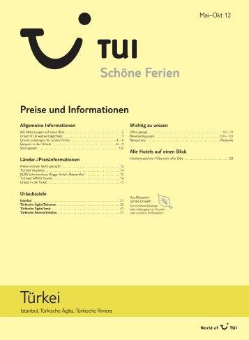 Preise und Informationen - TUI.at