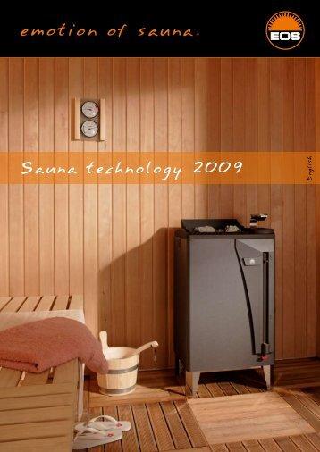 emotion of sauna.