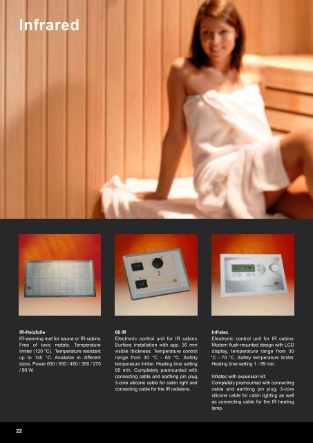 emotion of sauna.