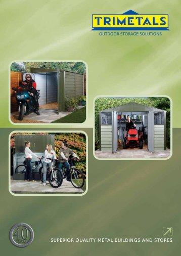 Outdoor storage solutions - Taylors Garden Buildings
