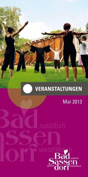 Veranstaltungen Mai 2013 - Tagungs
