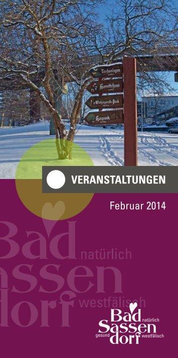 VERANSTALTUNGEN Februar 2014 - Tagungs