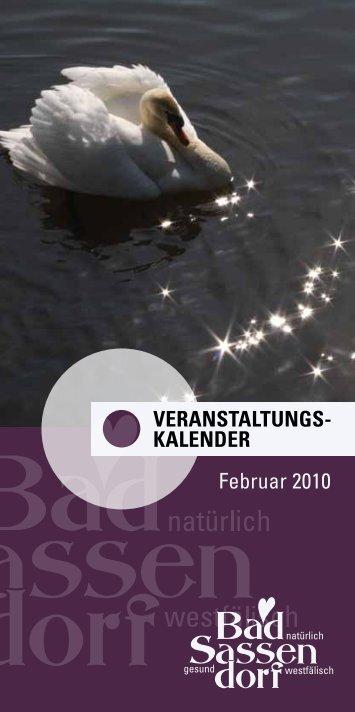 Februar 2010 - Tagungs- und Kongresszentrum Bad Sassendorf