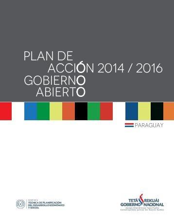 Plan de Acción 2014/2016. Gobierno Abierto Paraguay